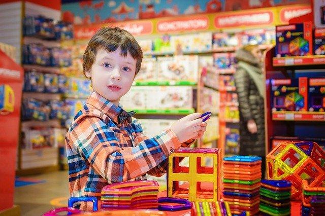 Trgovina z igračami za otroke